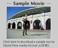 Click here to download a sample movie (QuickTime media format, 6.0MB).