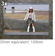 3x 35mm equivalent: 105mm