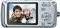 Extra-Bright LCD Monitor for Comfortable Image Viewing under the Water and in Bright Sunshine