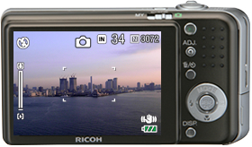 A large high resolution, high angle, and bright 2.7 inch 230,000 pixel LCD