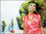 Automatic tracking and focusing of faces