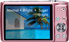 Super Bright LCD for easy viewing, even outdoors
