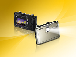 COOLPIX S1100pj Projection