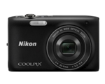 COOLPIX S3100 (Black)