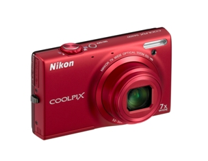 COOLPIX S6100 (Red)